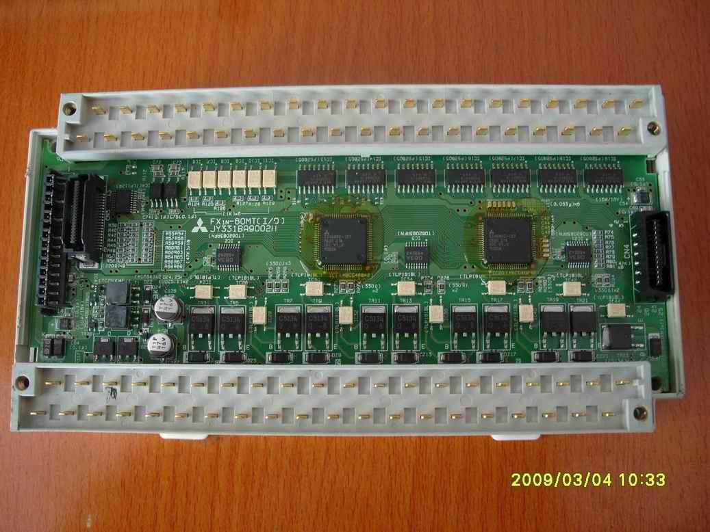 基恩士plc电路回路图
